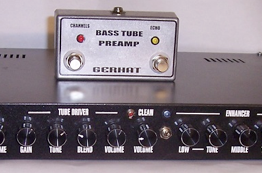 Bass Tupe preamp