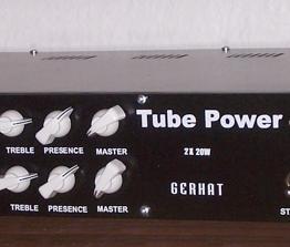 Tube amp 2x20W